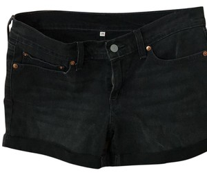 Levi's Cuffed Shorts black