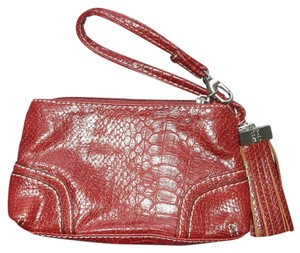 New York & Company Wristlet in Brick red