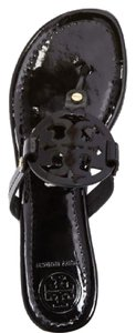 Tory Burch black Patent leather Sandals
