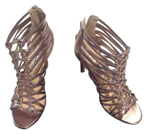 Nina Shoes Prom Strappy Heels Ninashoes.com Metallic Pumps