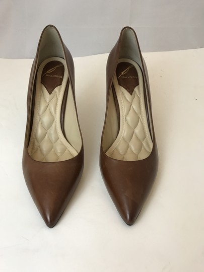 B Brian Atwood Never Worn Louboutin Chanel brown Platforms Image 1