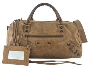 Balenciaga Satchel in Light Brown
