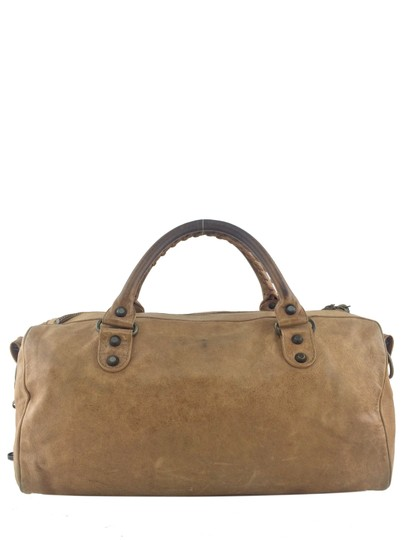 Balenciaga Satchel in Light Brown Image 3