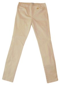 Halston Slim Skinny Straight Leg Stretch Blend Pants