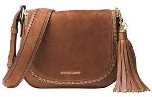 Michael Kors Brooklyn Saddle Shoulder Bag