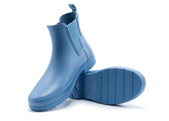 Hunter Water-repellant Water-resistant Women's blue Boots
