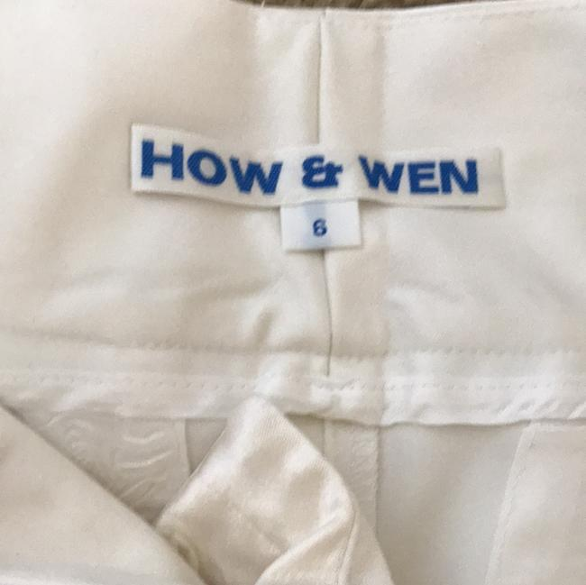 How & Wen Straight Pants white. Image 4