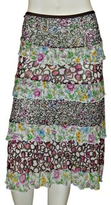 Diane von Furstenberg Silk Skirt Multi-Color