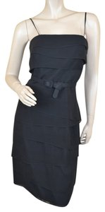 White House | Black Market Tiered Belted Dress