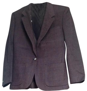 Burberry London Pure Lamb's Wool Loomed In Scotland Ladies 2-piece Skirt Suit, Slim Fit size 8