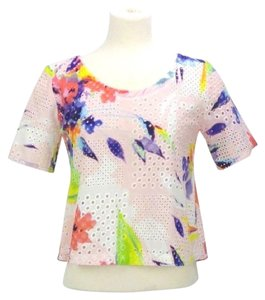 Trina Turk Crop Pettite Small Top