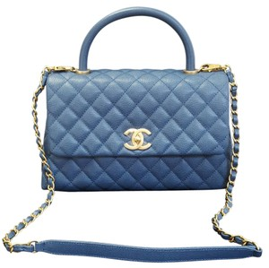 Chanel Tote in Deep Blue