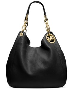 Michael Kors 30h3gfte3l Mk Fulton Leather Shoulder Bag