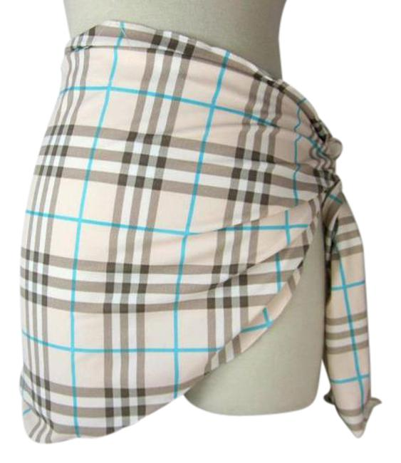 Item - Pink XS Nova Check Cover Up/Wrap Sz: Cover-up/Sarong Size 2 (XS)