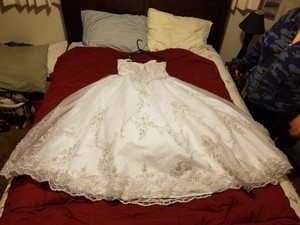 Mary's Bridal None Wedding Dress