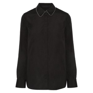 Alexander Wang Button Down Shirt Black