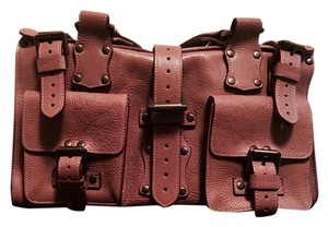 Mulberry Satchel in mauve