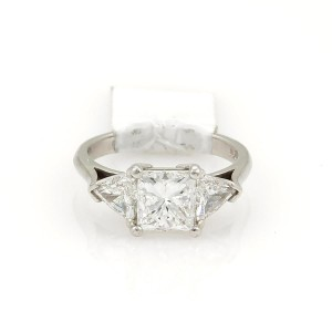 Other Princess Cut 2.01ct Diamond Platinum Engagement Ring w/GIA Certificate