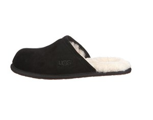UGG Australia Mens Uggs Ugg Slippers Mens Slippers Mens Scuff Ugg Scuff Black Flats