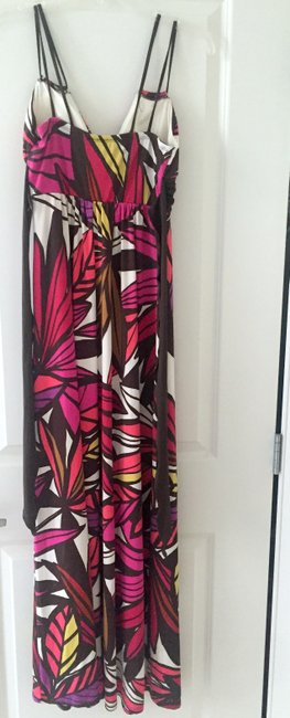 Multi(brown, pink, white) Maxi Dress by Other Maxi Summer Image 1