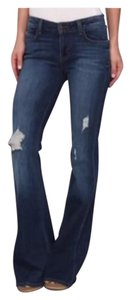 Siwy Flare Leg Jeans-Distressed