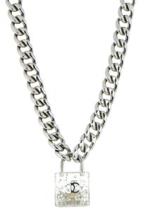 Chanel Chanel Padlock Lock Necklace.