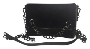 Zara Velvet Chain Cross Body Bag