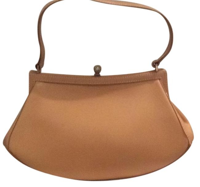 Item - Vintage Purse Light Tan Beige Leather Baguette
