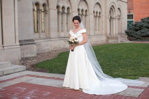 Oleg Cassini Cmb321 Wedding Dress