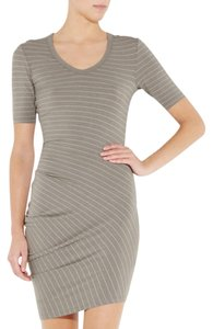 T by Alexander Wang short dress Taupe on Tradesy
