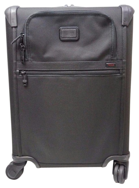 Item - Alpha 2 Continental Zip Expandable Carry-on 22061 Luggage Suitca Black Nylon Weekend/Travel Bag