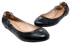 Tory Burch Reva Espadrille Gucci Louis Vuitton Chanel Black Flats