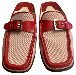 Tod's Red Mules