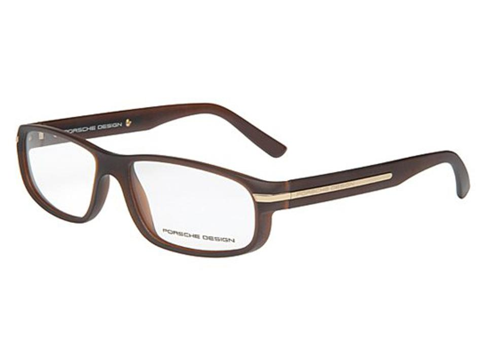 a13edb326a56 Porsche design porsche eyeglasses matte transparent brown image jpg 960x711 Porsche  glasses