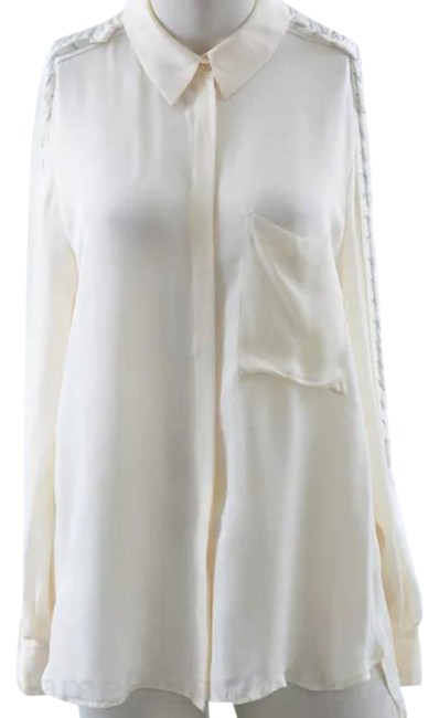 Preload https://img-static.tradesy.com/item/21302727/haute-hippie-ivory-trapped-chain-blouse-size-12-l-0-1-650-650.jpg