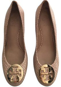 Tory Burch Wedges gold, nude, brown Wedges