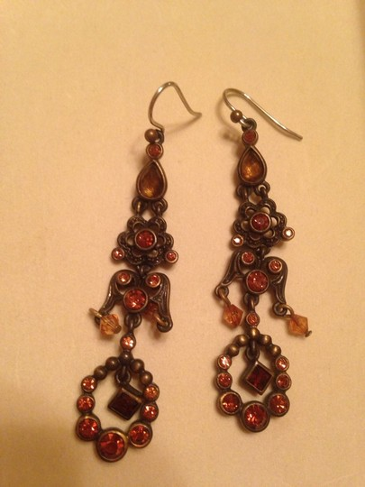 Liz Claiborne Liz Claiborne Brown Stone Earrings