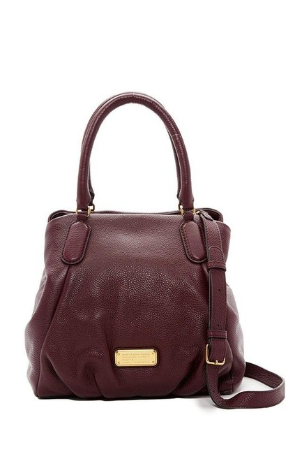 Marc by Marc Jacobs Q Fran Leather Tote - Dark Wine Satchel Marc by Marc Jacobs Q Fran Leather Tote - Dark Wine Satchel Image 1