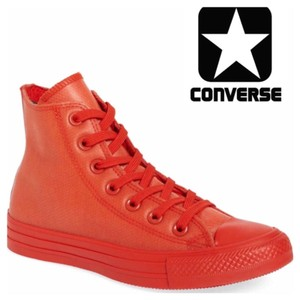 Converse Red Sign Athletic