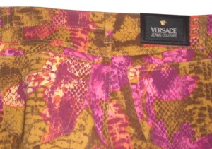 Versace Straight Pants multi color