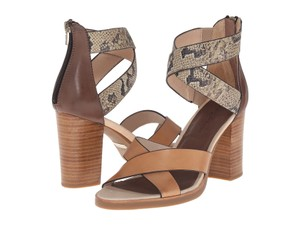 Tommy Bahama Strappy Snake Lavina Tan Sandals