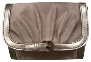 Dior Dior cosmetic pouch light gray with silver