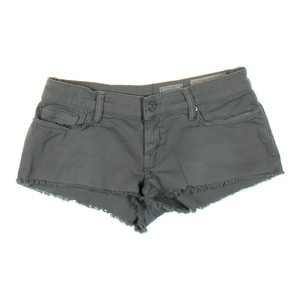 AllSaints Distressed Frayed Cut Off Shorts