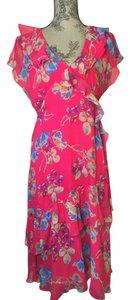 reddish pink with flowers Maxi Dress by Sundance