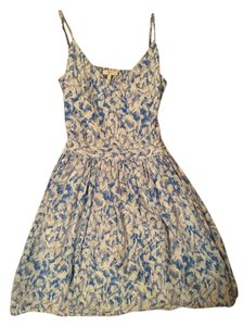 Joie short dress Blue and white on Tradesy