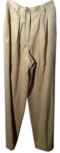 Anne Klein Relaxed Pants Beige