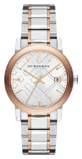 Preload https://img-static.tradesy.com/item/21304474/burberry-silver-and-rose-gold-in-the-box-unisex-bu9006-watch-0-1-540-540.jpg