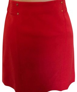 White House | Black Market Skirt Red