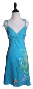 Tommy Bahama short dress Blue on Tradesy