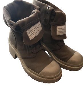 Marc by Marc Jacobs Army Green Boots
